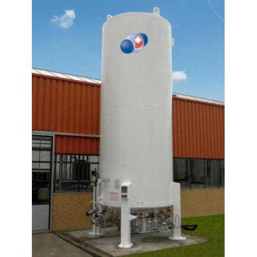 CO2-Storage Tank, vertical